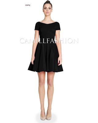 Sukienka z rękawem na każdą okazję CAMILL 265A 4