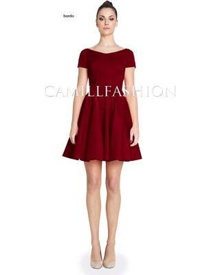 Sukienka z rękawem na każdą okazję CAMILL 265A 12