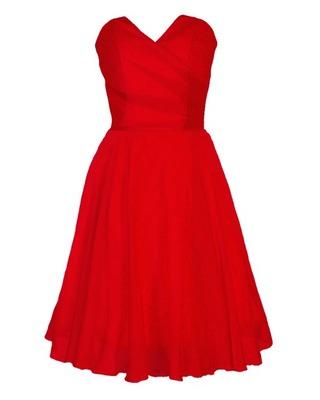 Gorsetowa szyfonowa sukienka CAMILL 210B