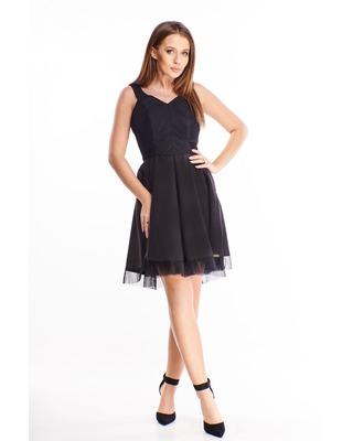 sukienka z rozkloszowanym...