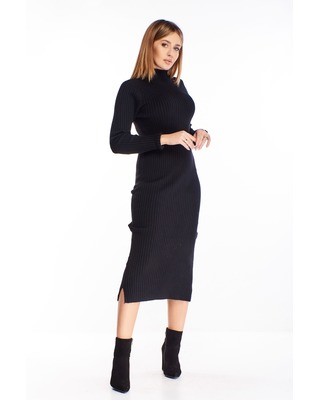 sweterkowa sukienka o kroju...