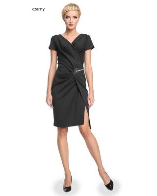 Wyszczuplająca , marszczona sukienka CAMILL 277 2