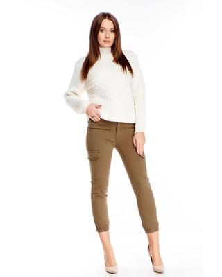 dżinsowe spodnie z wysokim...