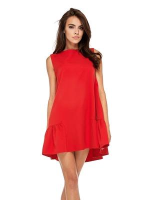 sukienka o kroju litery A z...