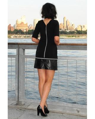 Trapezowa sukienka na każdą okazję CAMILL 312 4