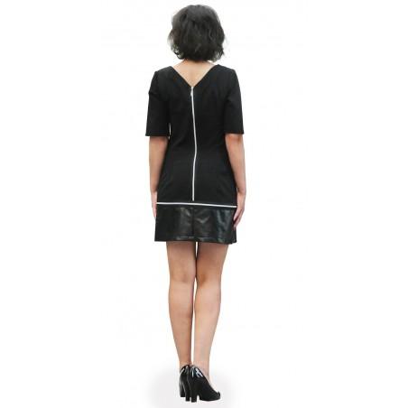 Trapezowa sukienka na każdą okazję CAMILL 312 6
