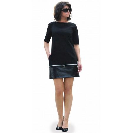 Trapezowa sukienka na każdą okazję CAMILL 312