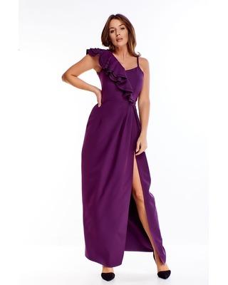 Fioletowa suknia wieczorowa...