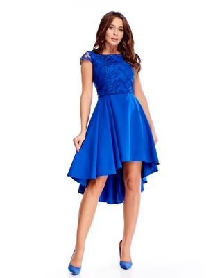 haftowana sukienka z...