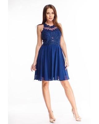 koktajlowa sukienka z...