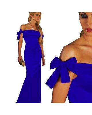 Długa sukienka typu syrenka CAMILL 090