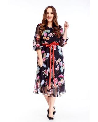 tiulowa sukienka z...