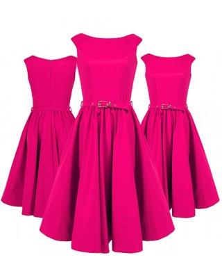 Rozkloszowana sukienka z koła a'la pin-up girl CAMILL 160 1