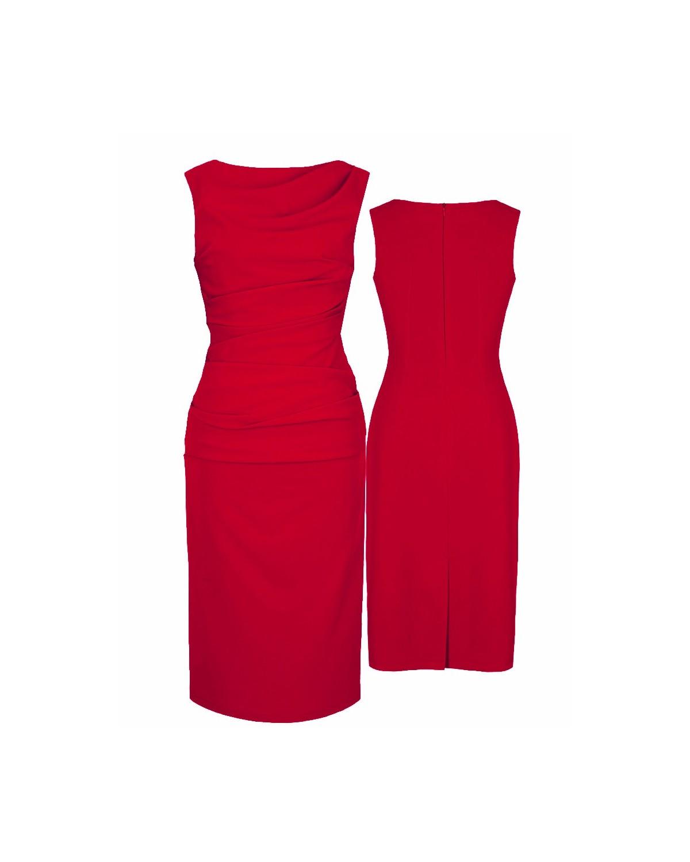 Casualowa wyszczuplająca sukienka CAMILL 147