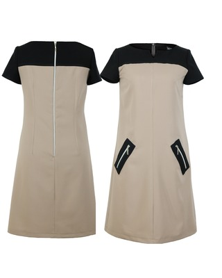 Trapezowa sukienka CAMILL 201
