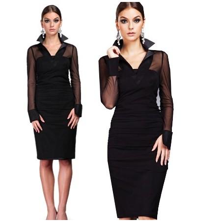 Dwuczęściowa wąska sukienka CAMILL 108
