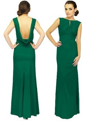Długa elegancka suknia,odsłania plecy CAMILL 028 1