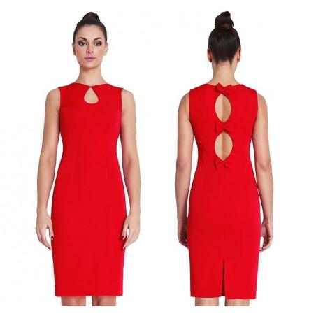Camill 055 wąska sukienka na każdą okazję