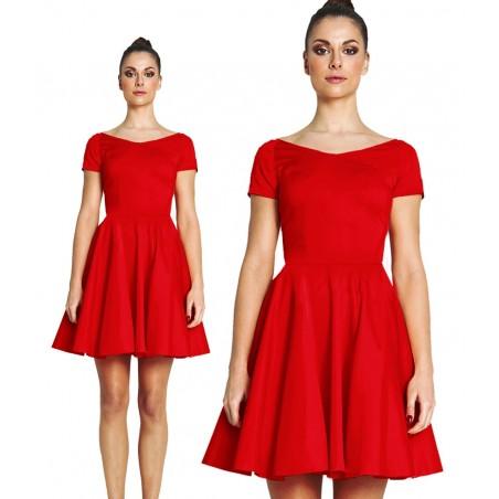 Sukienka z rękawem na każdą okazję CAMILL 265A 1