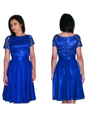 Camill 337 Elegancka zwiewna sukienka z koronki na sylwestra,wesele