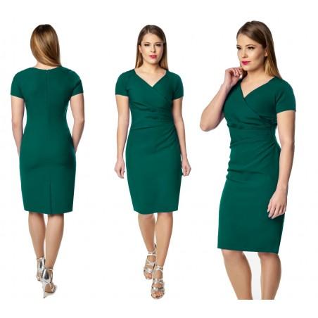 Ołówkowa ,klasyczna sukienka na każdą okazję CAMILL 239