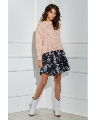 oversize'owy sweter o...