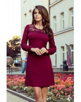 sukienka z koronkową...