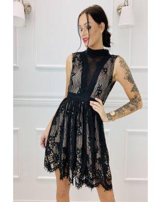 koronkowa sukienka z...