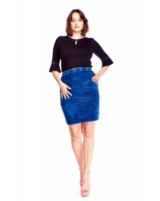 Jeansowa spódnica niebieski