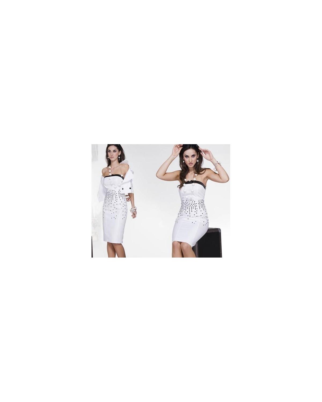 Elegancka ołówkowa sukienka z żakietem CAMILL 039