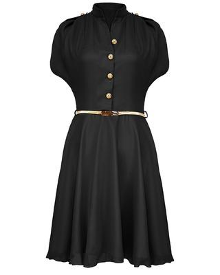 Czarna Zwiewna sukienka...