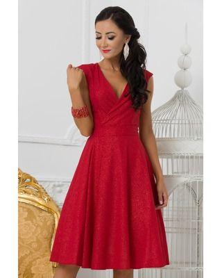 Czerwona Sukienka Na wesele...