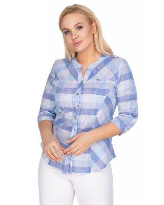 bluzka o koszulowym kroju w...