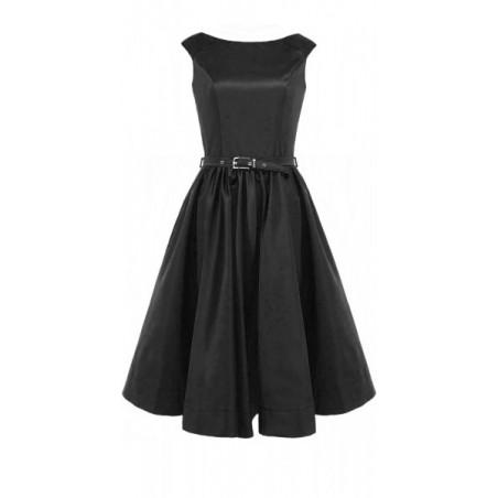 Rozkloszowana sukienka z koła a'la pin-up girl CAMILL 160 5
