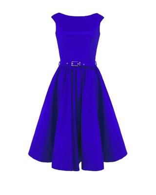 Rozkloszowana sukienka z koła a'la pin-up girl CAMILL 160