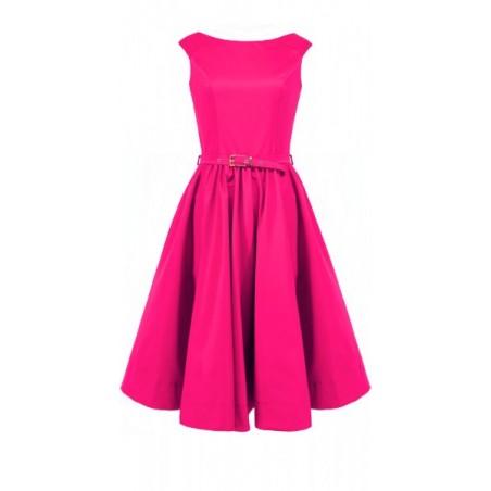 Rozkloszowana sukienka z koła a'la pin-up girl CAMILL 160 8