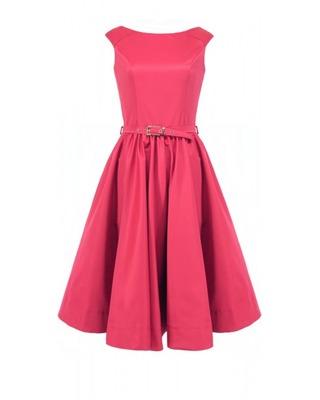 Rozkloszowana sukienka z koła a'la pin-up girl CAMILL 160 9