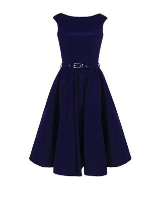 Rozkloszowana sukienka z koła a'la pin-up girl CAMILL 160 10