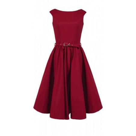 Rozkloszowana sukienka z koła a'la pin-up girl CAMILL 160 12