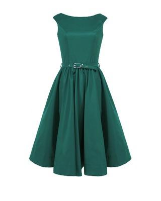 Rozkloszowana sukienka z koła a'la pin-up girl CAMILL 160 13