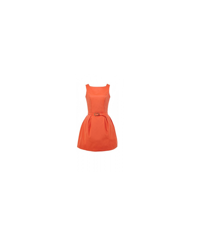 Urocza dziewczęca sukienka typu bombka  CAMILL 166 11