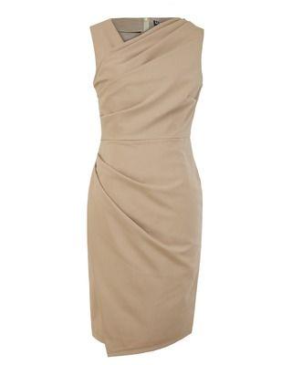 Asymetryczna ,ołówkowa sukienka na wesele szafir r.46 CAMILL 206