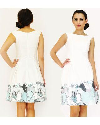 Rozkloszowana sukienka na komunię ,wesele CAMILL 176