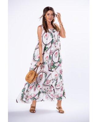 oversize'owa sukienka maxi...