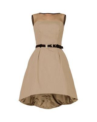 Asymetryczna gorsetowa sukienka CAMILL 222 11