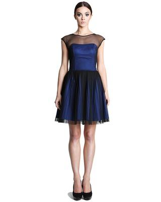 Rozkloszowana tiulowa sukienka CAMILL 251 4