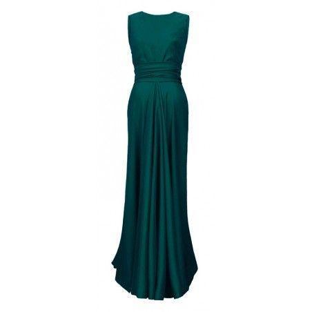 Piękna długa wieczorowa suknia CAMILL 193 4