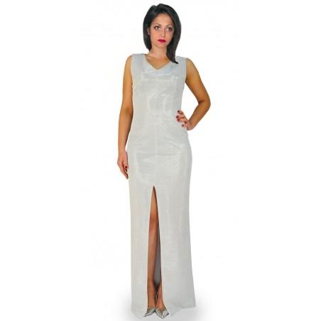 Camill 325 Długa ,wieczorowa ołówkowa suknia na karnawał,wesele
