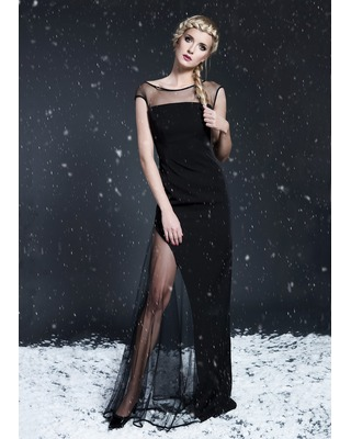 Długa wieczorowa suknia na wesele,studniówkę CAMILL 285 5
