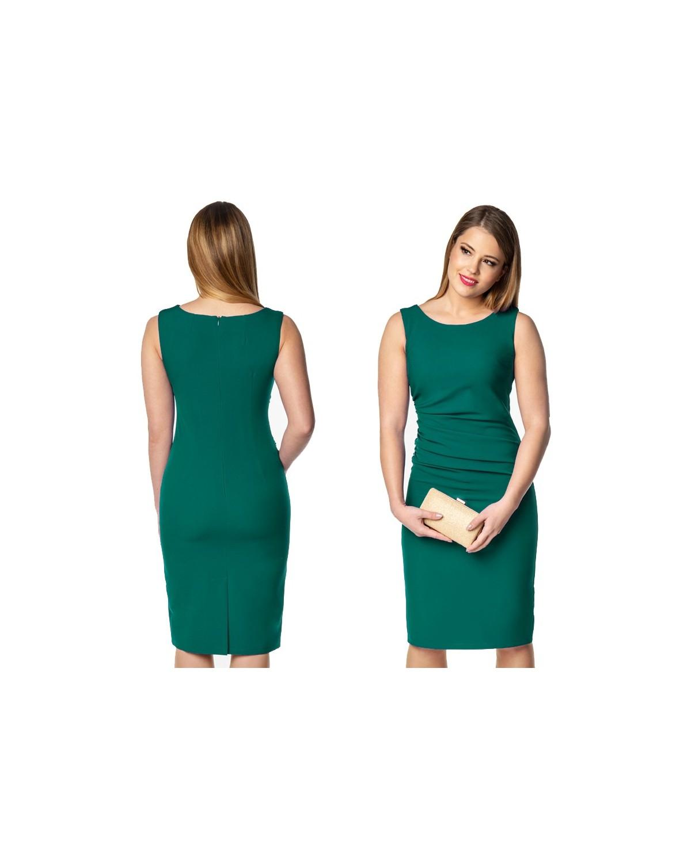 Wyszczuplająca wąska sukienka na każdą okazję CAMILL 214 1
